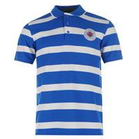 Rangers FC Stripe Polo pentru Barbati