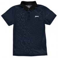 Tricouri Polo Slazenger Micro Stripe de baieti Junior
