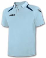 Tricouri polo Joma Champion II Sky albastru