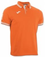 Tricouri polo Joma Combi Orange cu maneca scurta