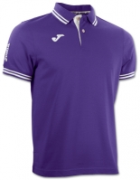 Tricouri polo Joma Combi Purple cu maneca scurta
