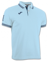 Tricouri polo Joma Combi Sky albastru cu maneca scurta