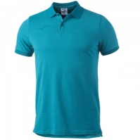 Tricouri polo Joma Essential turcoaz cu maneca scurta