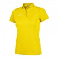 Tricouri Polo Joma Hobby galben cu maneca scurta pentru Femei