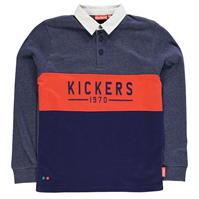 Tricouri Polo Kickers cu Maneca Lunga Rugby pentru baietei