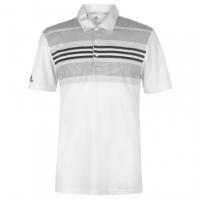 adidas Bold Stripe Golf Polo pentru Barbati