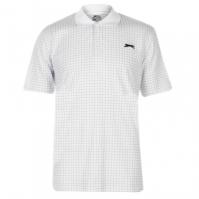 Slazenger Check Golf Polo pentru Barbati