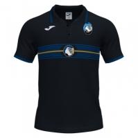 Tricouri Polo Sort Free Time Joma Atalanta negru cu maneca scurta