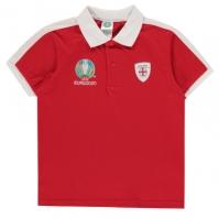 Tricouri Polo UEFA England de baieti Junior