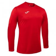Tricouri sport Joma Campus rosu cu maneca lunga