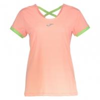 Tricouri sport Joma alergare T- Salmon Color cu maneca scurta