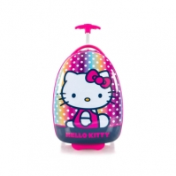 Troler Copii Calatorie Abs Fete Heys Hello Kitty Roz 46 Cm