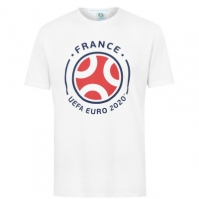 Tricouri UEFA France Graphic pentru Barbati
