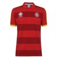 Tricouri Polo UEFA Spain Stripe pentru Barbati