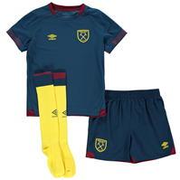 Umbro West Ham United Away Mini Kit 2018 2019