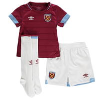Umbro West Ham United Home Mini Kit 2018 2019