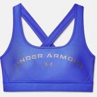 Under Armour Cross Back Graphic Bra pentru Femei