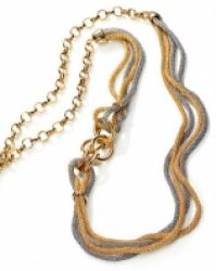 Viceroy Pendant Chapado Gild Bi-color Sra Fashion