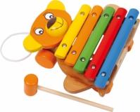 Xylofon Din Lemn Copii Bear