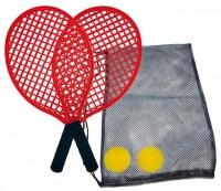 Set de SOFT TENISA SCHILDKROT tenis plaja / 2 rachete + 2piki 970130 Donic