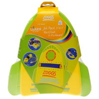 Zoggs Three In One Jet Pack Backfloat And Kickboard