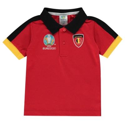 Tricouri Polo UEFA Euro 2020 Belgium de Bebelusi