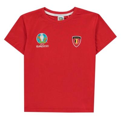 Tricouri UEFA Belgium Core Juniors