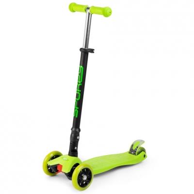 Scooter trojko?owa Spokey Pliers green 927050