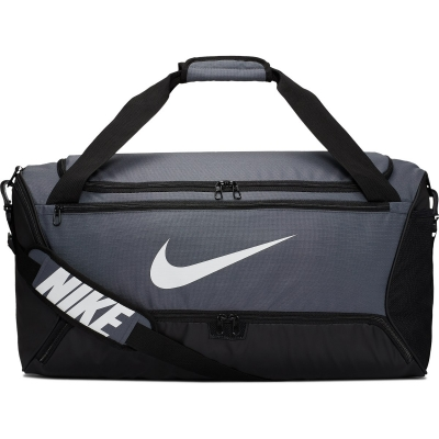 Geanta sala gri Nike Brasilia Training Duffel Bag Medium BA5955-026