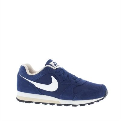 Pantofi sport piele intoarsa bleumarin Nike MD Runner 2 femei