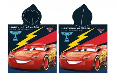 Halat de baie cu desene animate Cars copii