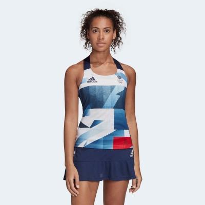 Maieu tenis adidas Team GB HEAT.RDY Top pentru Femei