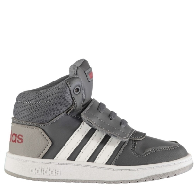 Adidasi Sport adidas Hoops High Top de baieti Bebe