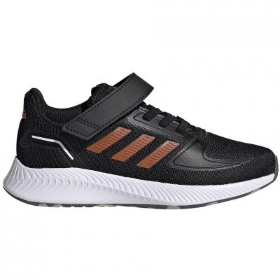 Pantofi sport Adidas Runfalcon 2.0 's black-orange FZ0116 Copil