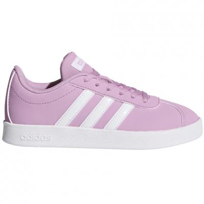 Pantofi sport Adidas VL Court 2.0 K 's pink DB1517 Copil