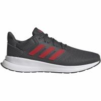 Pantofi sport Adidas Runfalcon men's gray-red EG8602