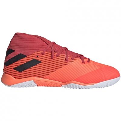 Pantofi sport Adidas Nemeziz 19.3 IN soccer orange EH0288