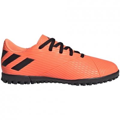 Pantofi sport Adidas Nemeziz 19.4 TF JR soccer orange EH0503