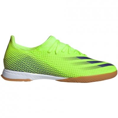 Pantofi sport Adidas X Ghosted.3 IN soccer green EG8207 Adidas