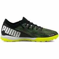 Pantofi sport Puma Ultra 3.2 TT soccer black and green 106351 02