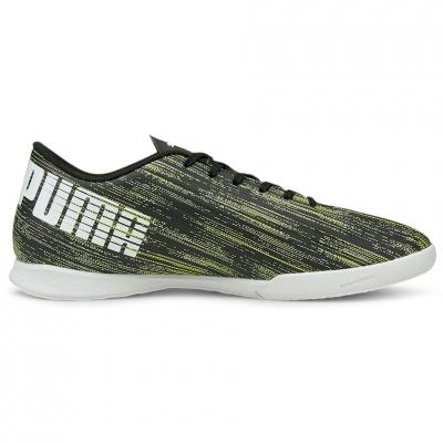 Pantofi sport Puma Ultra 4.2 IT soccer black and green 106358 02