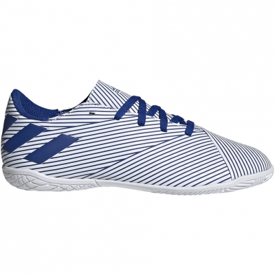Pantofi sport Adidas Nemeziz 19.4 IN JR white and blue EF1754 football