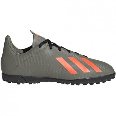 Pantofi sport Adidas X 19.4 TF JR green EF8378 football