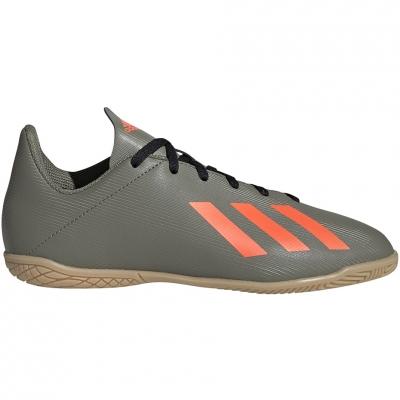 Pantofi sport Adidas X 19.4 IN football green EF8379 Junior