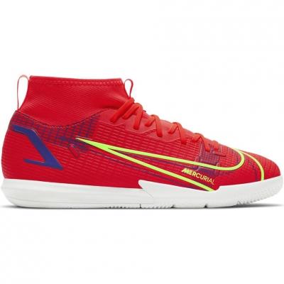 Pantofi sport soccer  Football Nike Mercurial Superfly 8 Academy IC CV0784 600 Junior