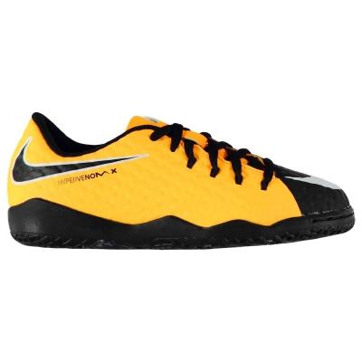 Ghete fotbal sala Nike Hypervenom Phelon Junior