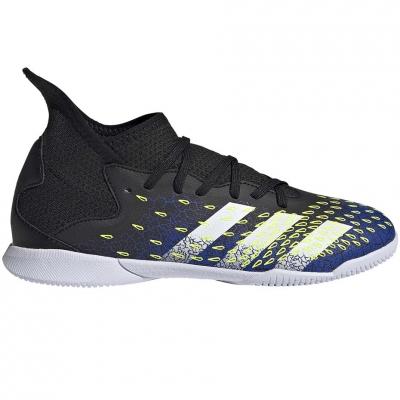 Ghete sport ?? pil Karskiye Adidas Predator Freak.3 IN black and dark blue FY0614 Junior
