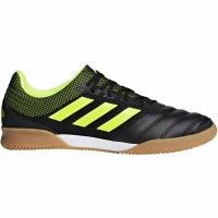Pantofi sport Football adidas Copa 19.3 IN SALA black yellow BB8093