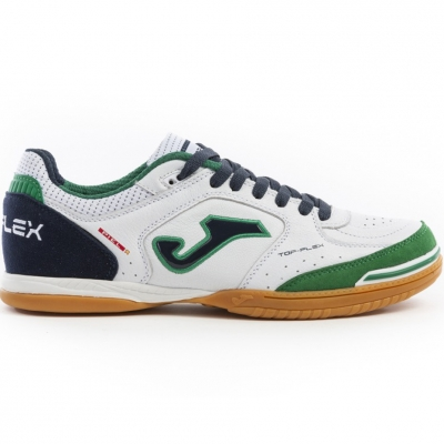 Pantofi sport Joma Top Flex 932 Sala IN football white-green-navy blue