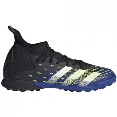 Ghete sport Football  adidas Predator Freak.3 TF black and blue FY0624 Junior